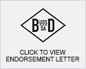 Beth Din Endorsement letter